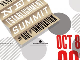 Vanity Fair - New Establishment Summit Conference Design OLD